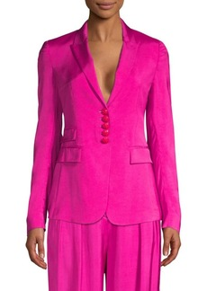 Escada Single-Breasted Suit Jacket
