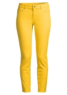 Escada Mid-Rise Skinny Ankle Jeans
