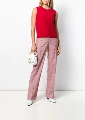 Escada sleeveless knit top