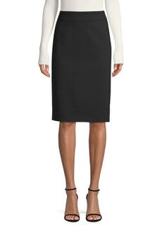 Escada Stitch Pencil Skirt