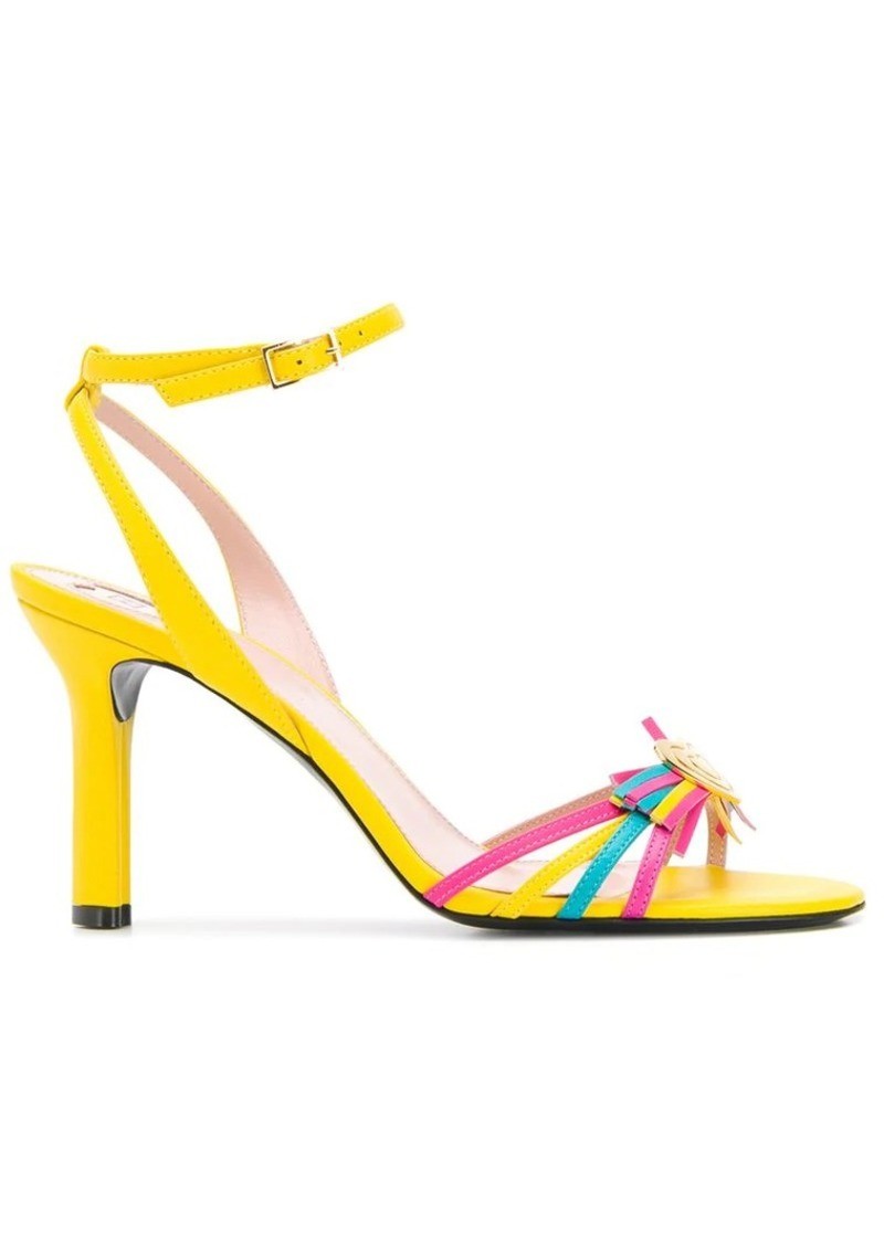 Escada strappy heeled sandals