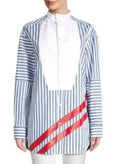 Escada Striped Cotton Tunic