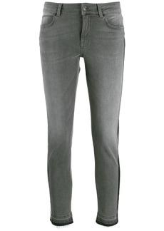 Escada striped skinny jeans