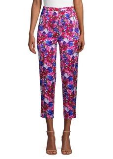 Escada Talarentex Floral-Print Ankle Pants