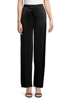 Escada Tamal Satin Wide-Leg Pants