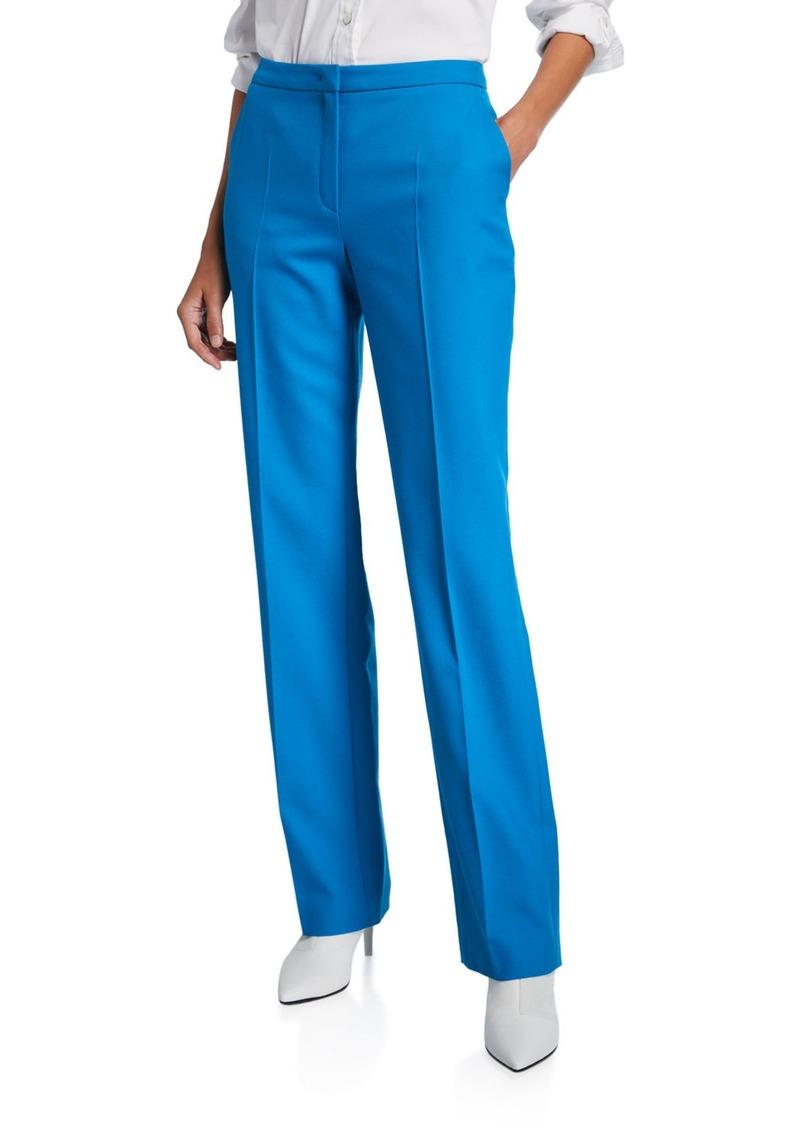 Escada Taminotas Classic Zip-Front Pants
