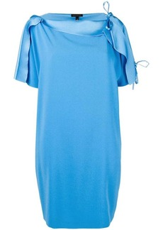 Escada tie shoulder detail dress