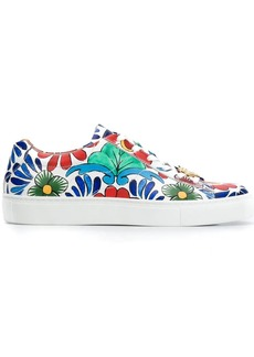 Escada tile print sneakers