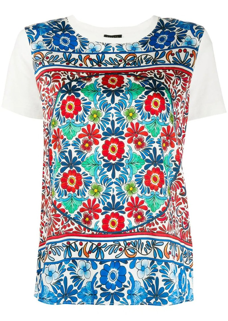 Escada tile print T-shirt
