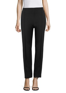 Escada Tuska Jersey Side Zip Pants