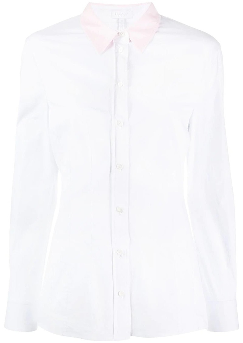 Escada two-tone shirt