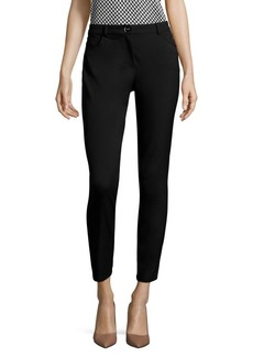Escada Tygan Slim Ankle Pants