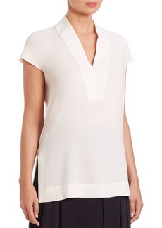 Escada V-Neck Blouse