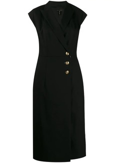 Escada v-neck dress