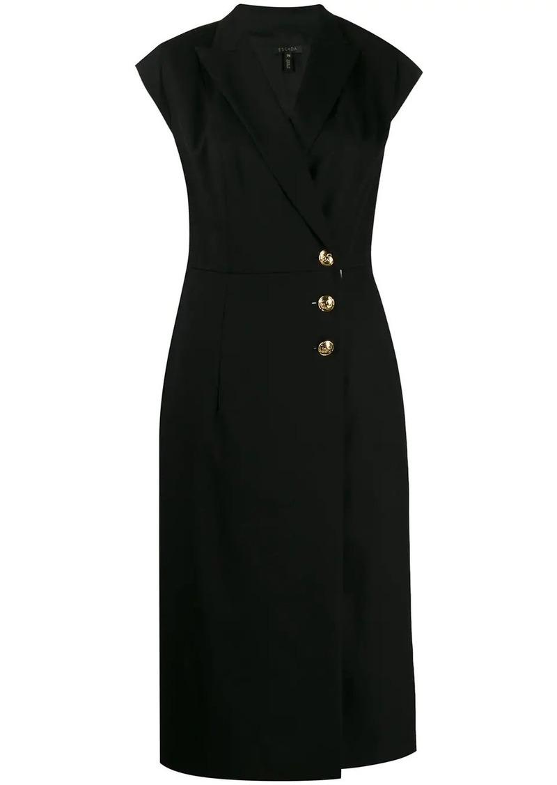 Escada v-neck dress