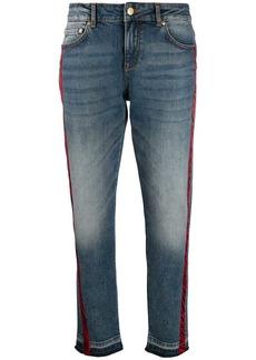 Escada zebra stripe jeans
