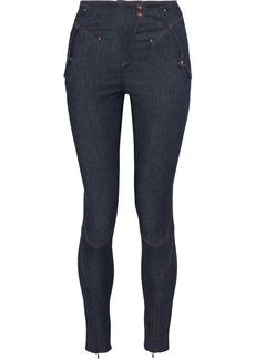 Esteban Cortazar Woman High-rise Skinny Jeans Mid Denim