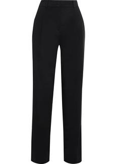 Esteban Cortazar Woman Cady Straight-leg Pants Black