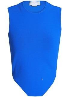 Esteban Cortazar Woman Stretch-knit Tank Cobalt Blue