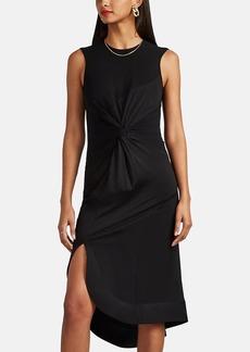 Esteban Cortazar Women's Knot-Detailed Jersey Flared Dress