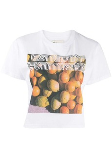 Esteban Cortazar printed logo T-shirt