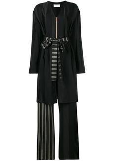 Esteban Cortazar robe-like long playsuit