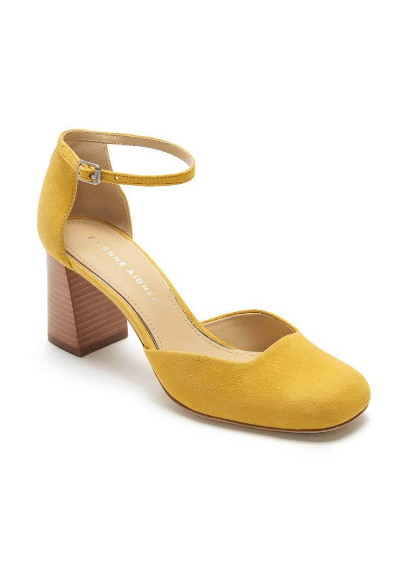 Etienne Aigner Dedra Ankle Strap Pump (Women)