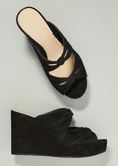 Etienne Aigner Desire Wedge Sandals