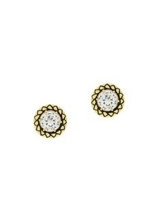 Etienne Aigner Goldtone and Cubic Zirconia Stud Earrings