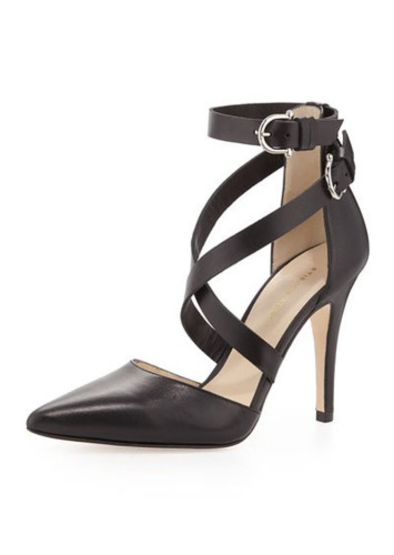 Etienne Aigner Ines Strappy Pointed-Toe Pump