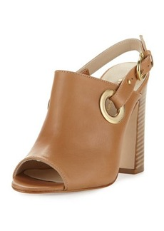 Etienne Aigner Kierra Grommet Leather Sandal