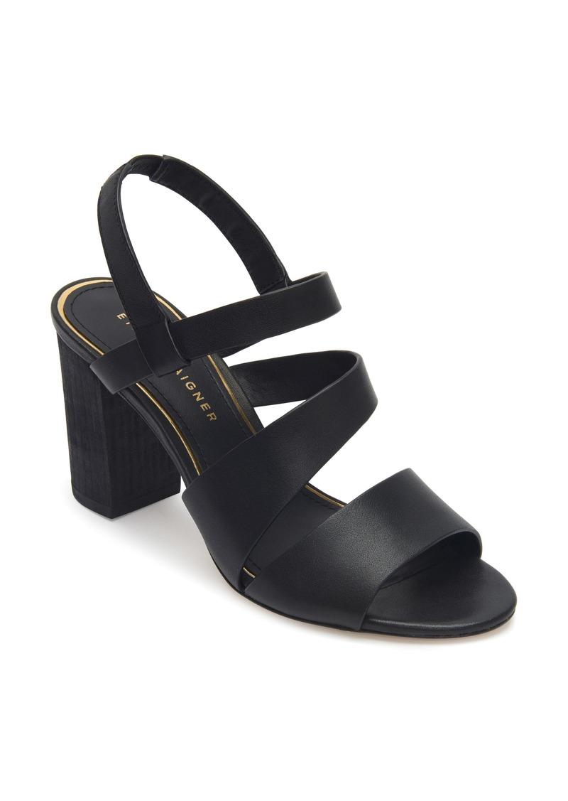Etienne Aigner Lane Block Heel Sandal (Women)
