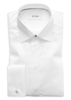 Eton of Sweden Diamond Weave Slim Fit Tuxedo Shirt�