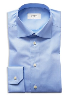 Eton of Sweden Micro Houndstooth Slim Fit Dress Shirt