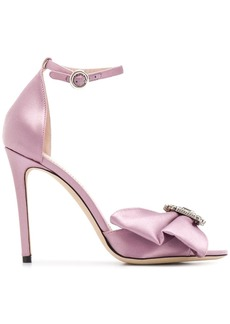 Etro 105mm bow brooch sandals