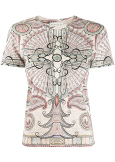 Etro abstract print T-shirt