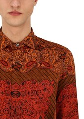Etro African Printed Cotton Shirt
