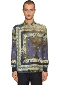 Etro Alchemista Printed Silk Shirt