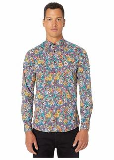 Etro Alchemy Print Button Up Shirt