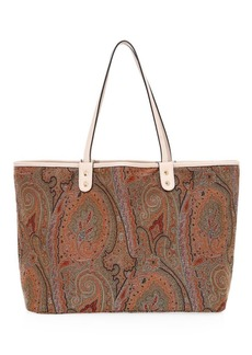 Etro Arnica Paisley Embroidered Tote Bag