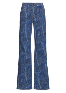 Etro Arnica Print Jeans