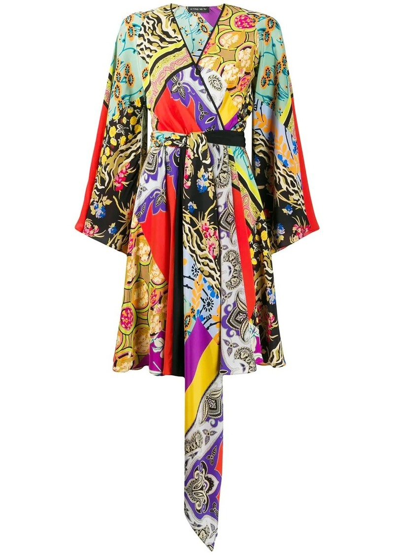 Etro asymmetrical dress