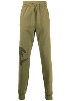 Etro bamboo embroidered track trousers