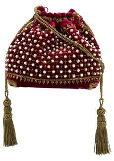 Etro beaded drawstring shoulder bag