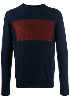 Etro block colour knit sweater