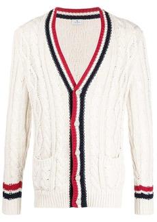 Etro braided knit cardigan