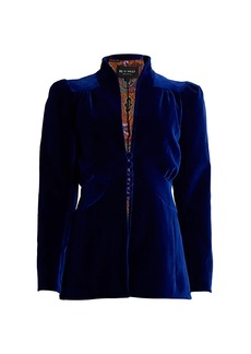 Etro Breeds Velvet Jacket