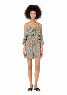 Etro Briza Jumpsuit Cover-Up