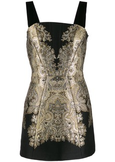 Etro brocade embroidery mini dress