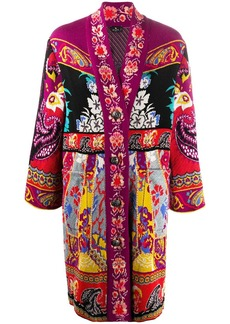 Etro button-up knitted coat